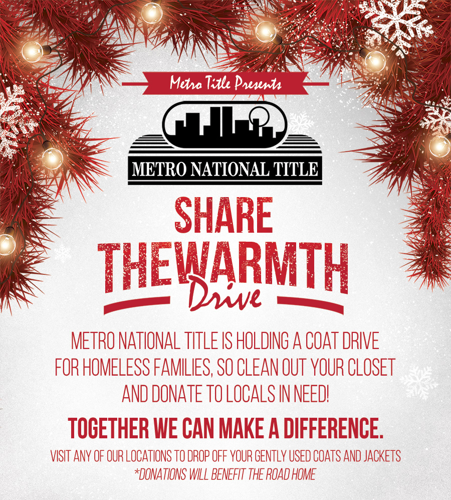 Metro National Title Coat Drive