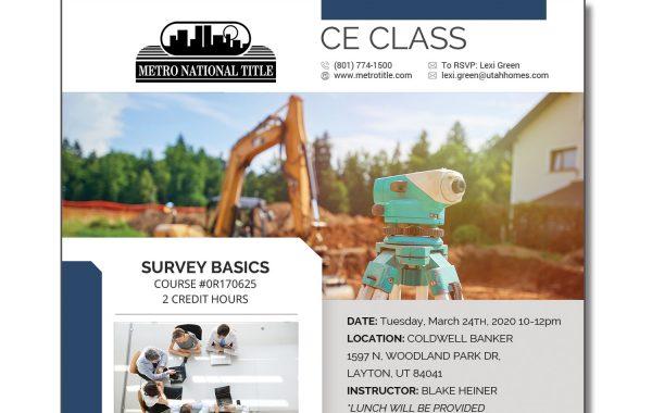 CE Class Flyer