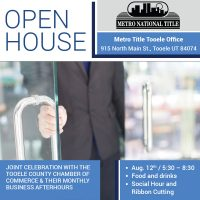 Tooele Office Open House